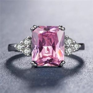 Jewelry - Cara Pink Sapphire Silver Ring